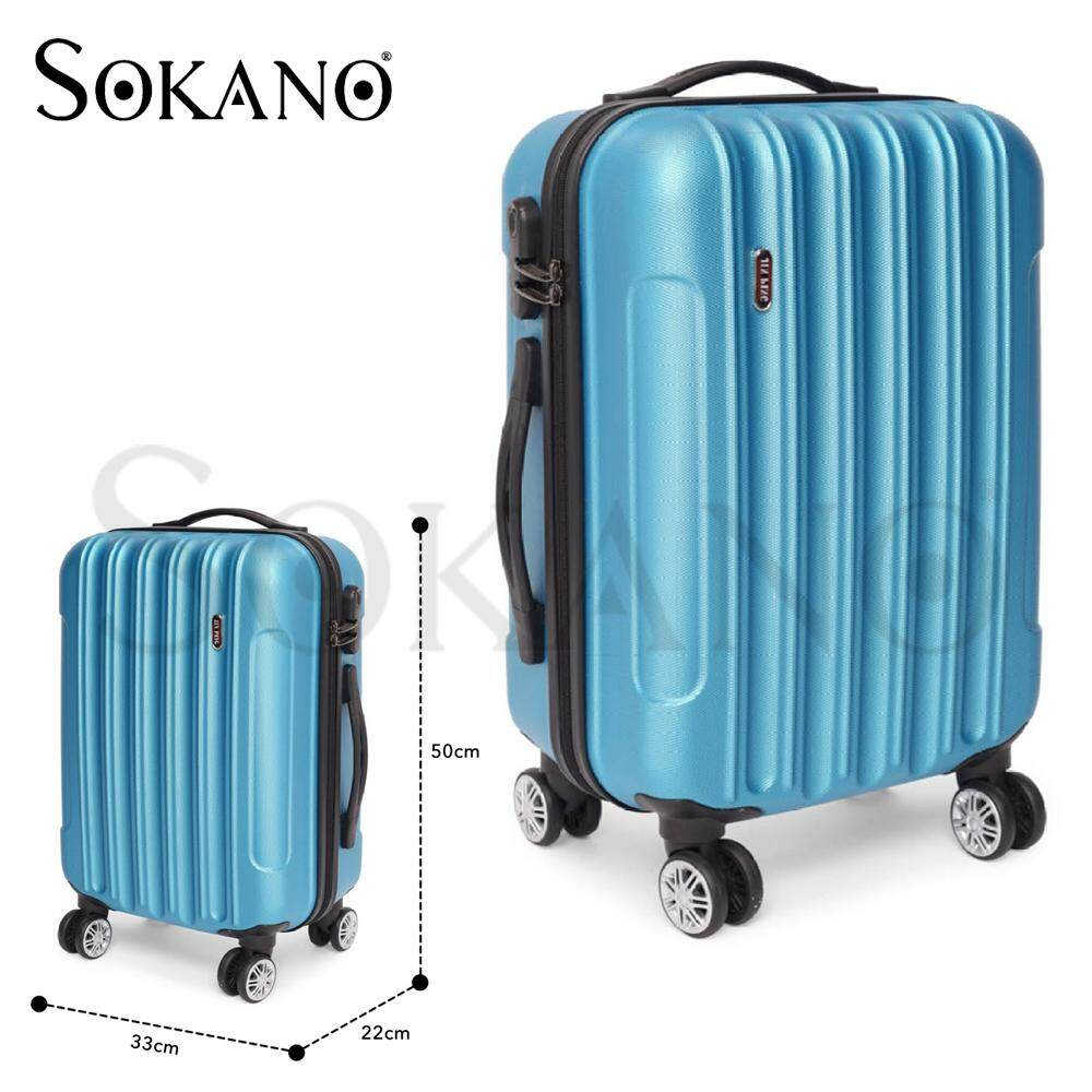 Voyage Hard Case ABS Luggage Bagasi- 20 Inches (Blue)