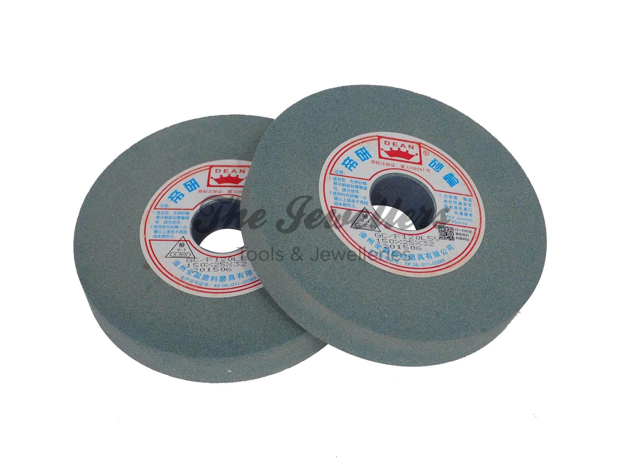 6  Green Carbide Grinding Wheel 150 x 25 x 32mm