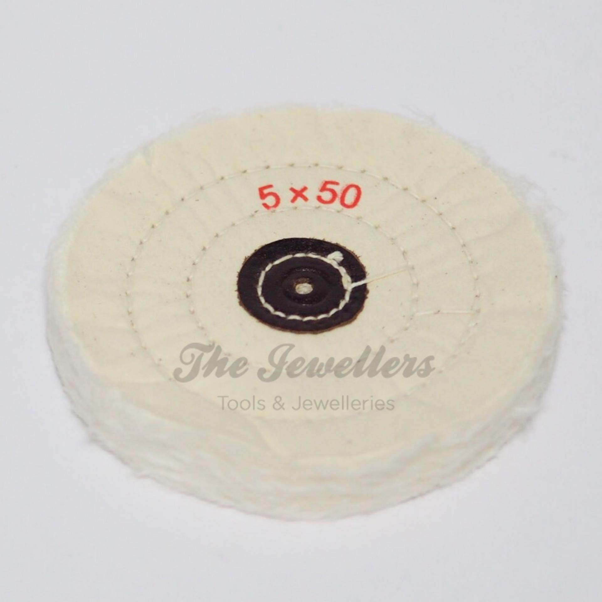 "5"" 50 Ply Polishing Wheel / Buffing Mop for Polishing and Cleaning Work"