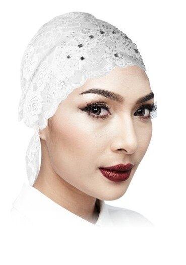 Semlouis Hijab Inner Anak Tudung - Lace dengan Manik Hiasan / PCS