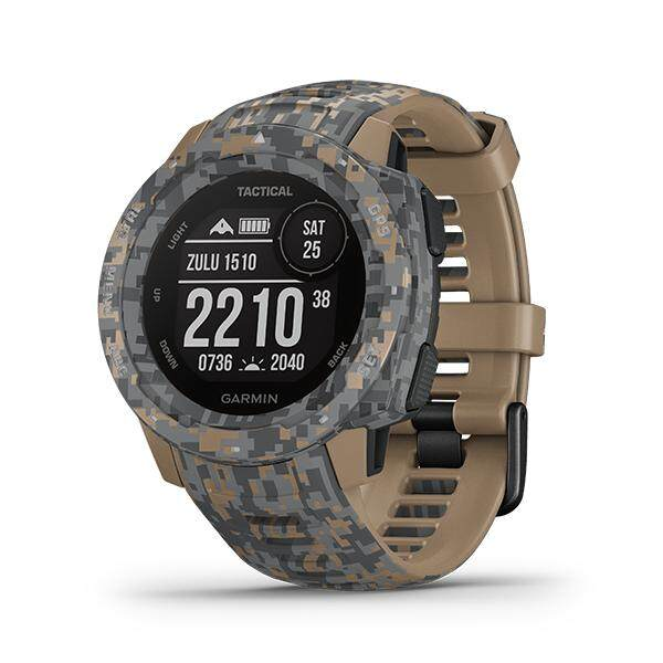 Garmin Instinct Tactical Edition Rugged, Outdoor GPS Watch ( NEW MODEL ) ( STOCK READY )-Tactical Camo