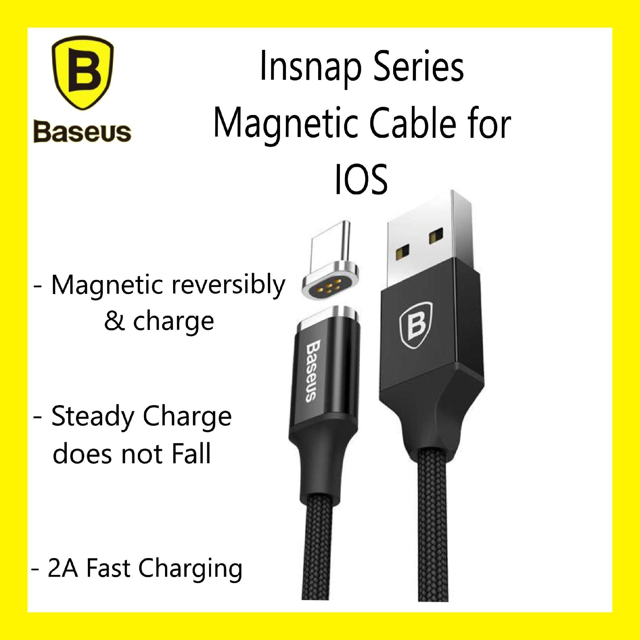 Baseus New Insnap 2 Series Magnetic Cable iOS