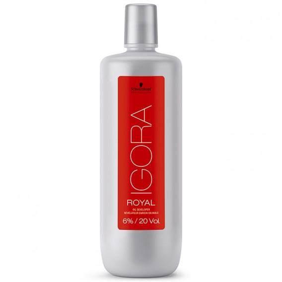 Schwarzkopf Professional IGORA ROYAL 6% 20VOL Peroxide 1000ml