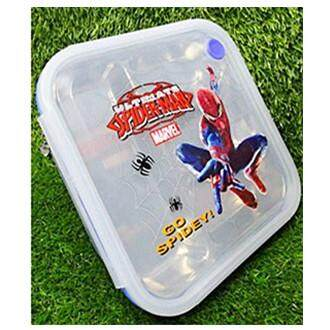 Cartoon Stainless Steel Lunch Box (BGJAYA)-Spider-Man