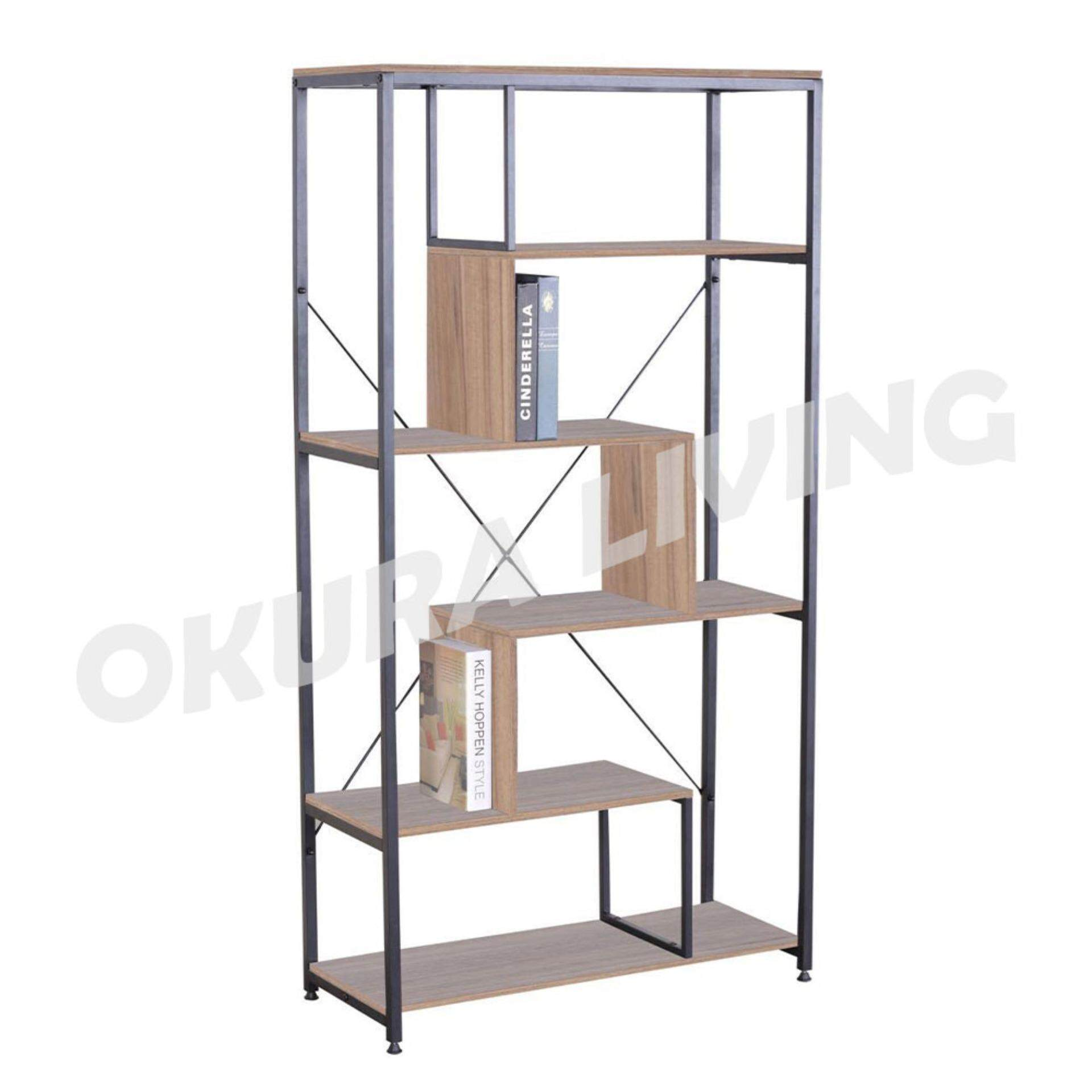 OKURA Modern Designed Multipurpose Book Shelf Home Office