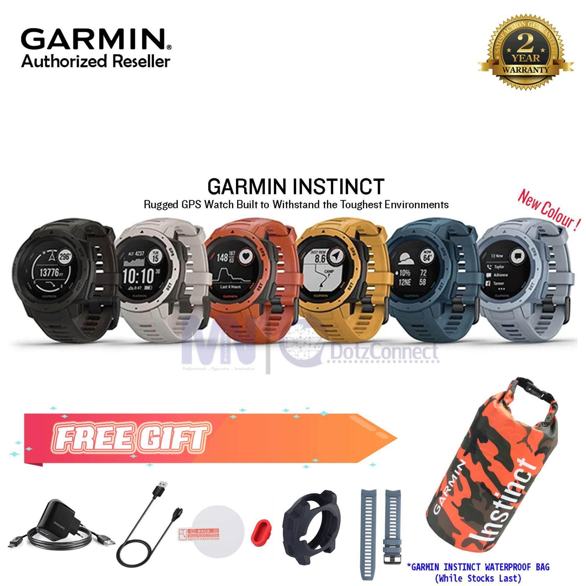 Garmin Instinct Rugged, Outdoor GPS Watch