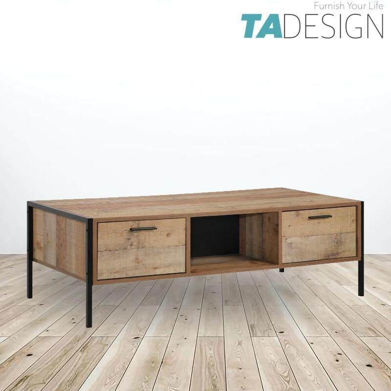 TAD TEXAS industrial design 4ft coffee table
