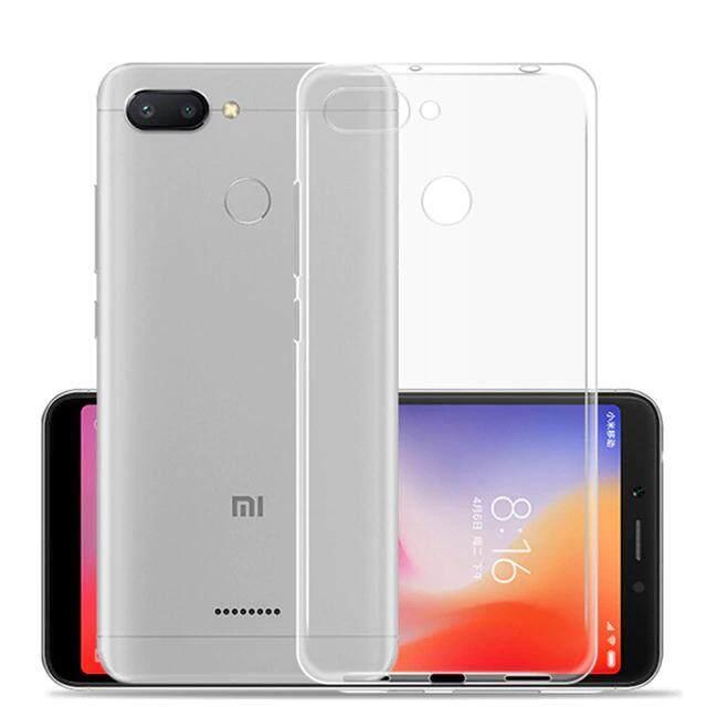 TPU Silicone Gel Soft Case for Xiaomi Redmi 6 (Transparent)