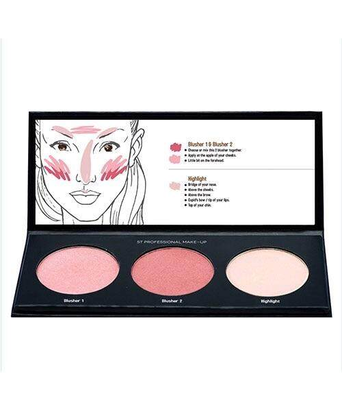 Sendayu Tinggi Blusher & Highlight Makeup + Free Gift
