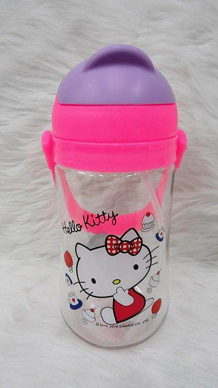 650ML Cartoon Water Bottle Kids Drinking Bottle BPA Free (BGJAYA)-Hello Kitty