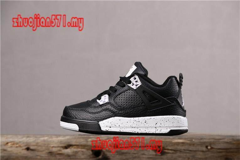 Original_Nike_Air_Jordan_4_Retro_Kids_Boys_Girls_Sports_Basketball_Shoes_Sneakers_AAJJ447 Giảm Cực Hot