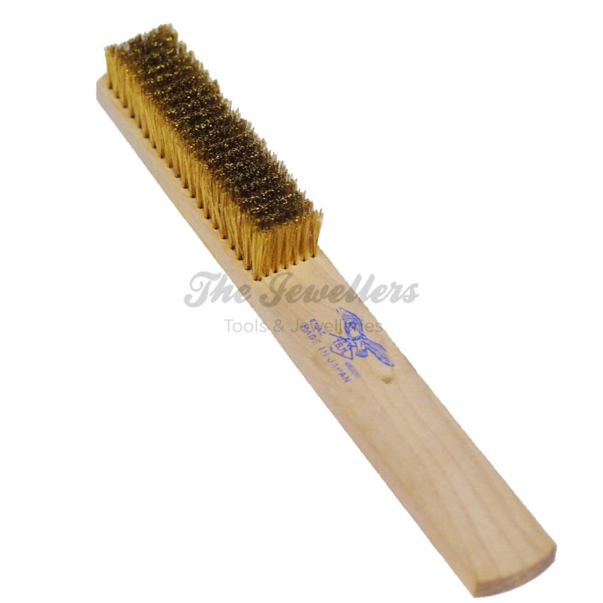 Eagle 7 Rows Soft Brass Wire Brush for Jewellery Cleaning