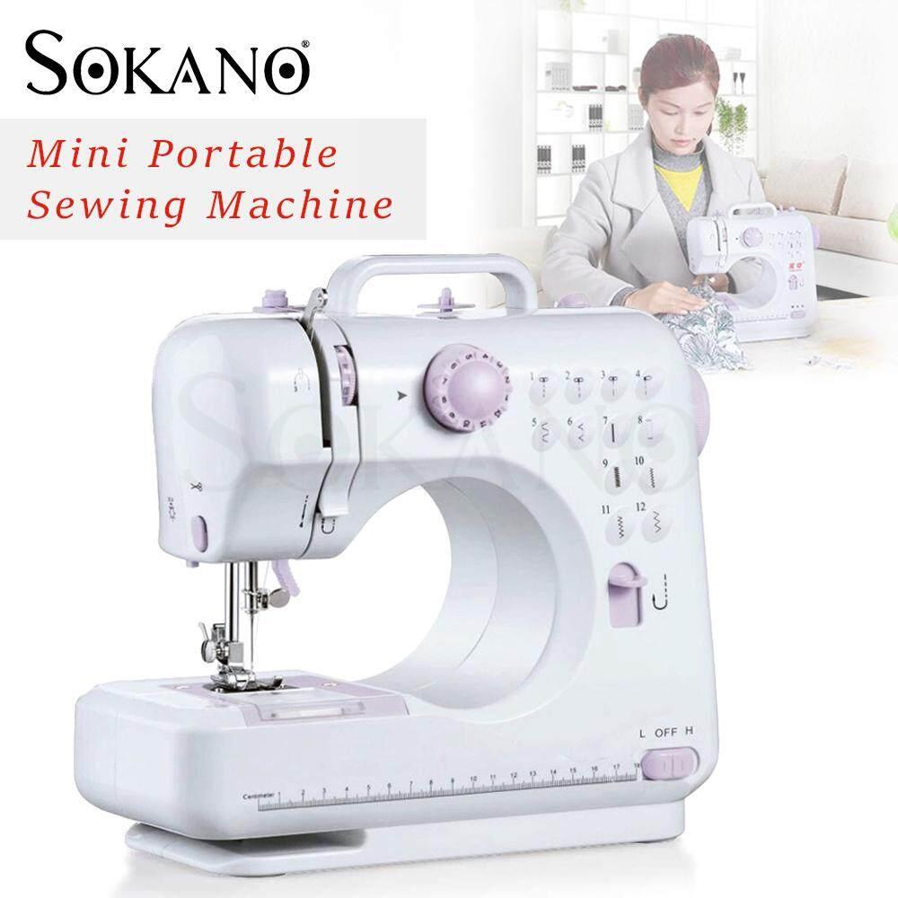 SOKANO FSHM-505 12 Sewing Options Mini Portable Handheld Sewing Machine