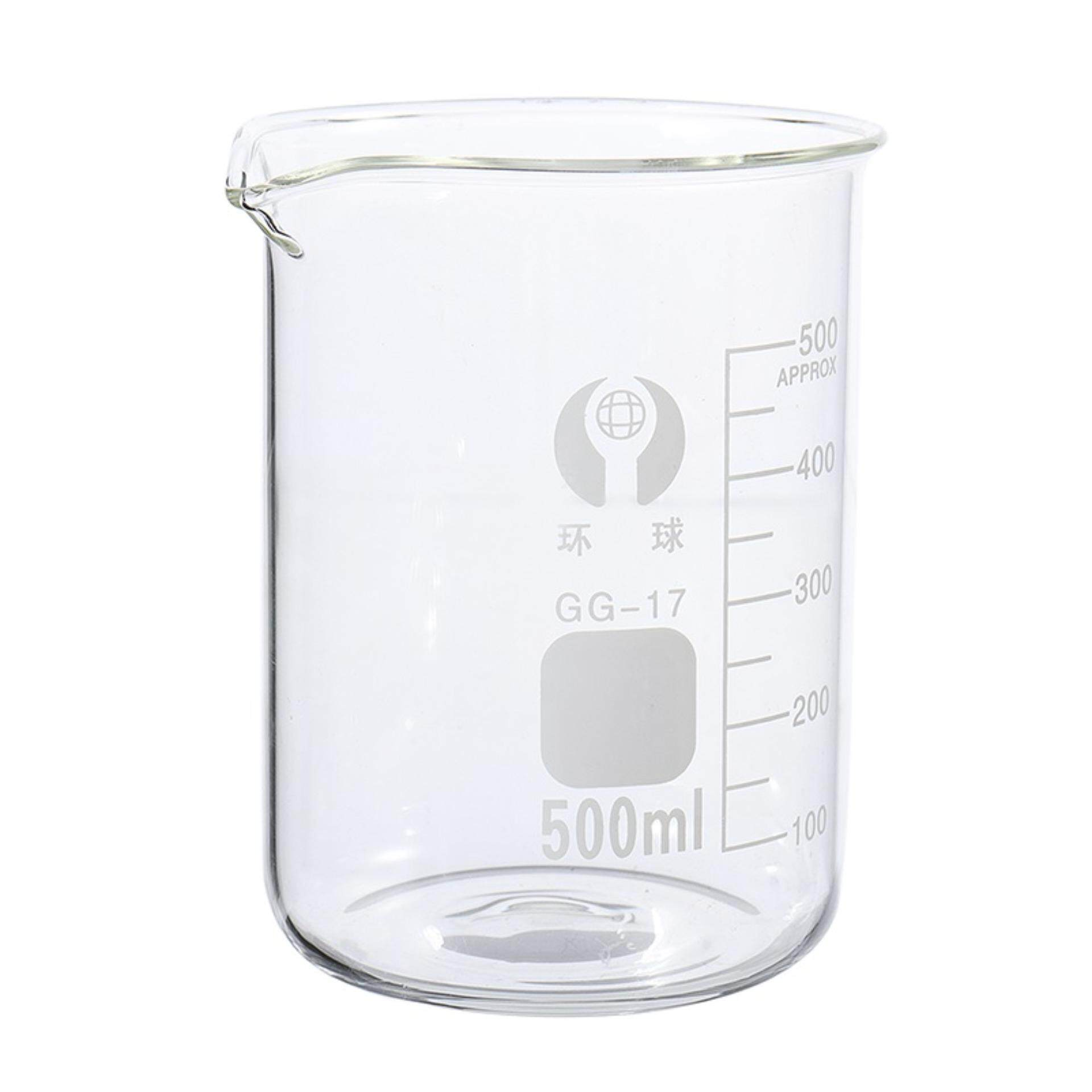 Glass Beaker 500ml with Sprout