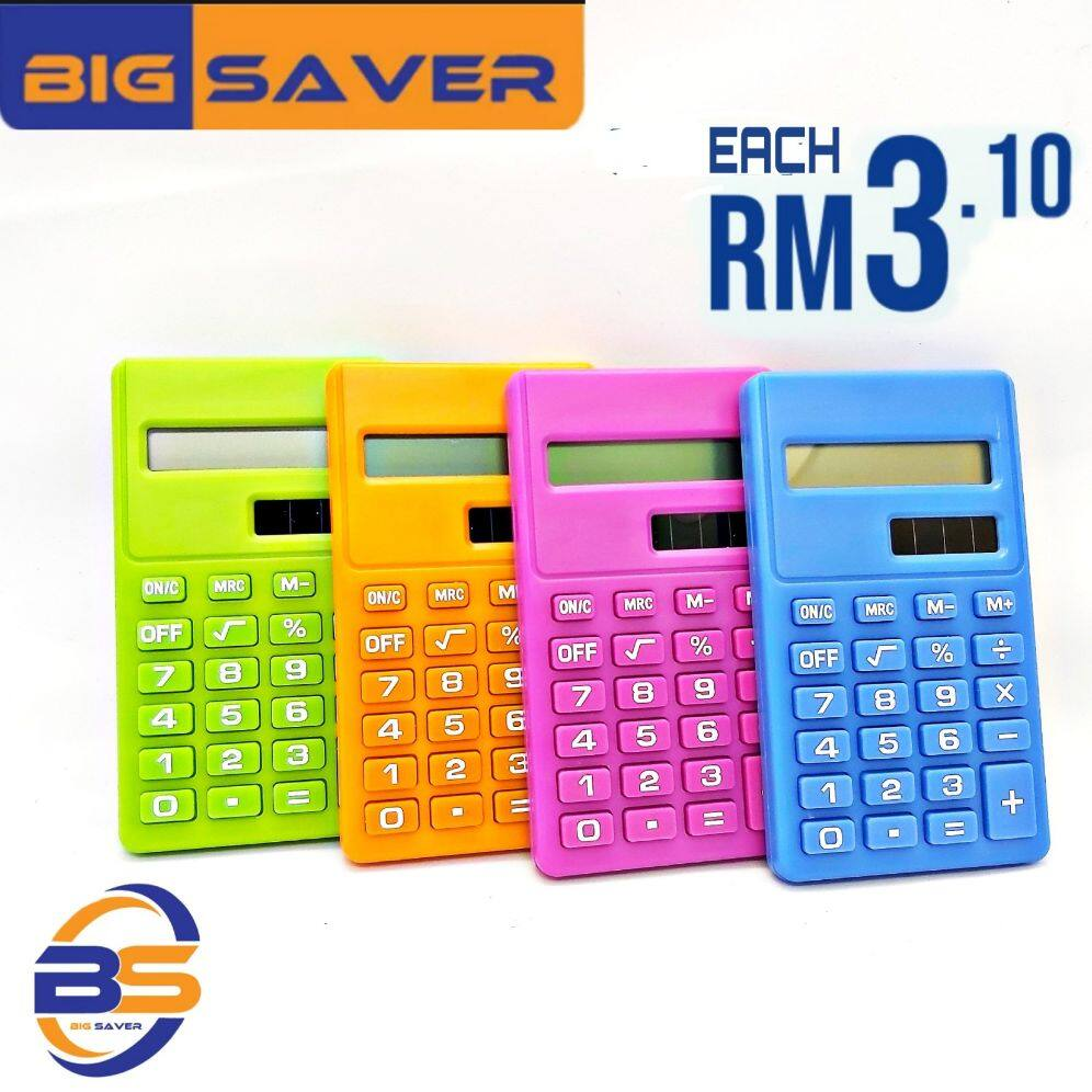 8 Digit Display Electronic Calculator