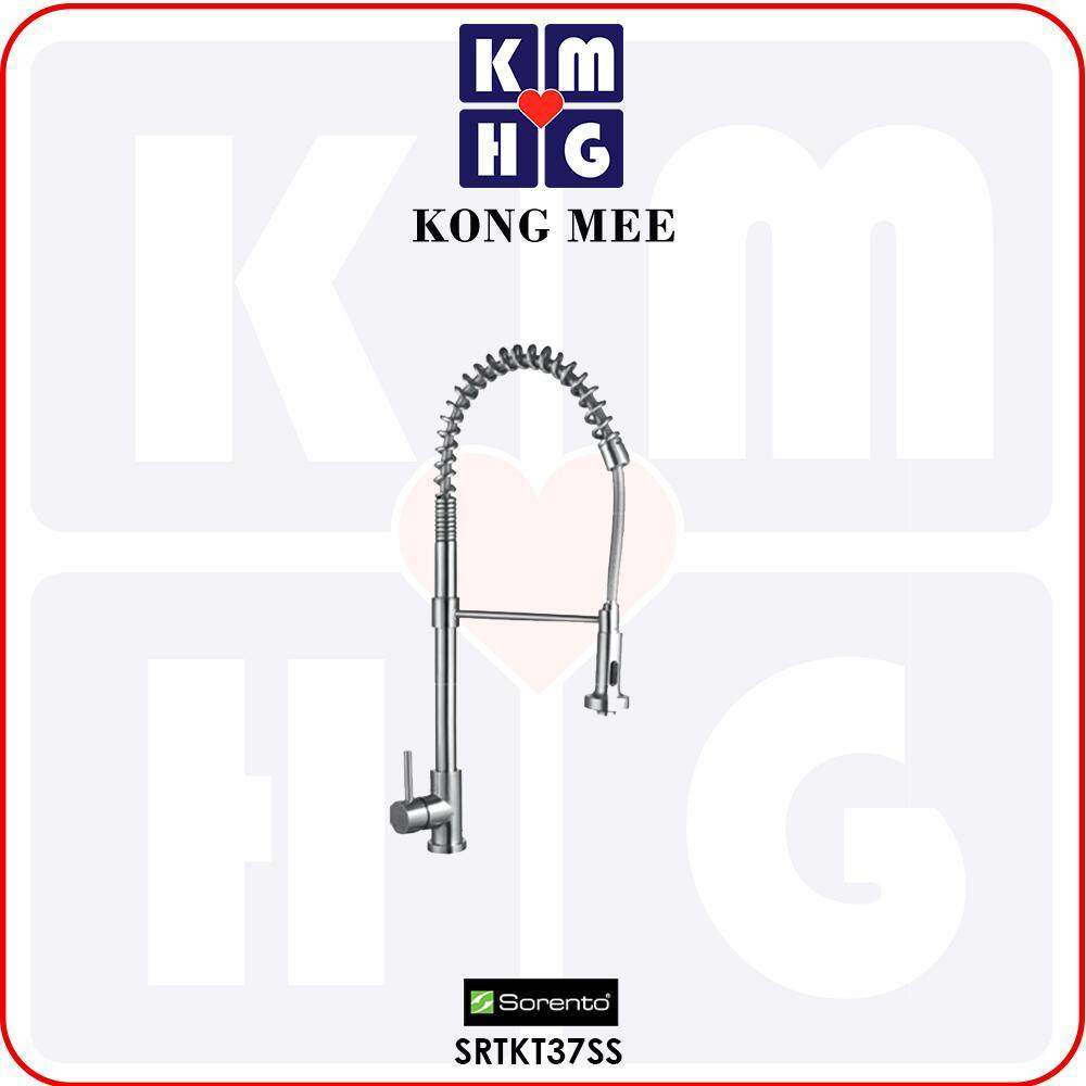 Sorento Italy – Sola Series Stainless Steel 304 Kitchen Sink Mixer Tap (Hot And Cold Faucet) (SRTKT37SS) Kitchen Top Counter Basin Faucet Aesthetic Modern Luxury Restaurant Home Kitchen Wash Dishes Water Soap Faucet Cleaning Pipe Eating Food Cook Chef