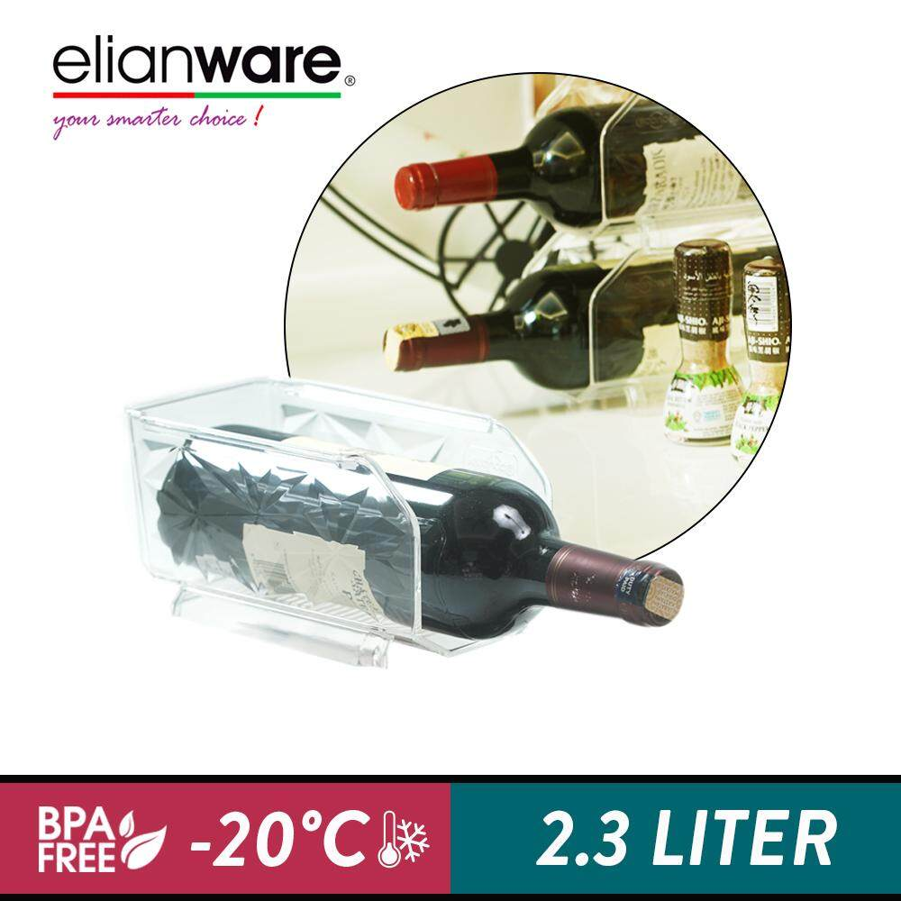Elianware E-Concept BPA FREE Stackable Wine Bottle Holder Organizer