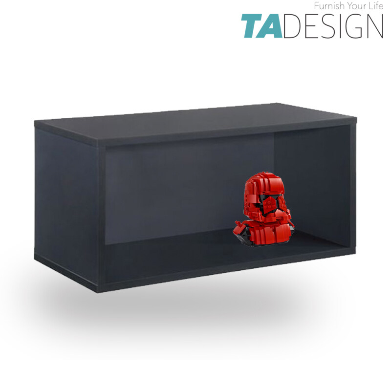 TAD FLEXI DY-1 wooden DIY stackable storage cube cabinet book megazine rack book shelf display cabinet