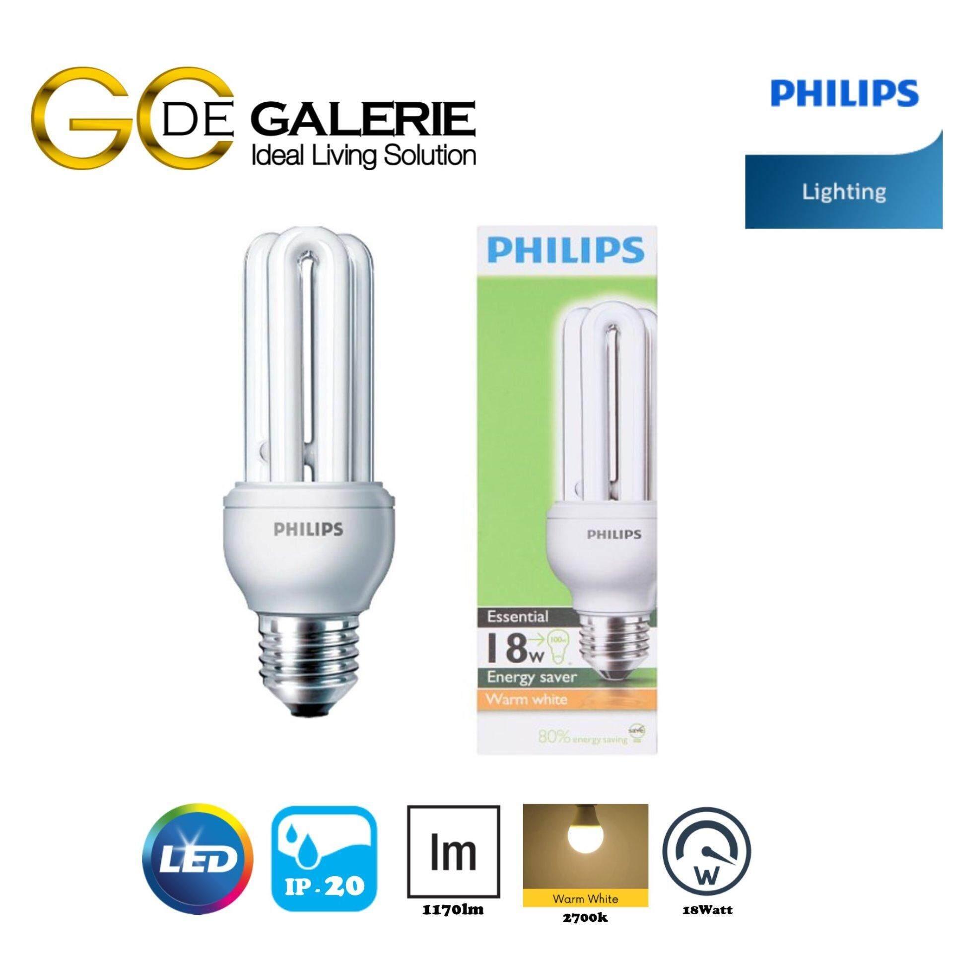 BULB PHILIPS E-SAVER 18W E27 WW (GEN 1)