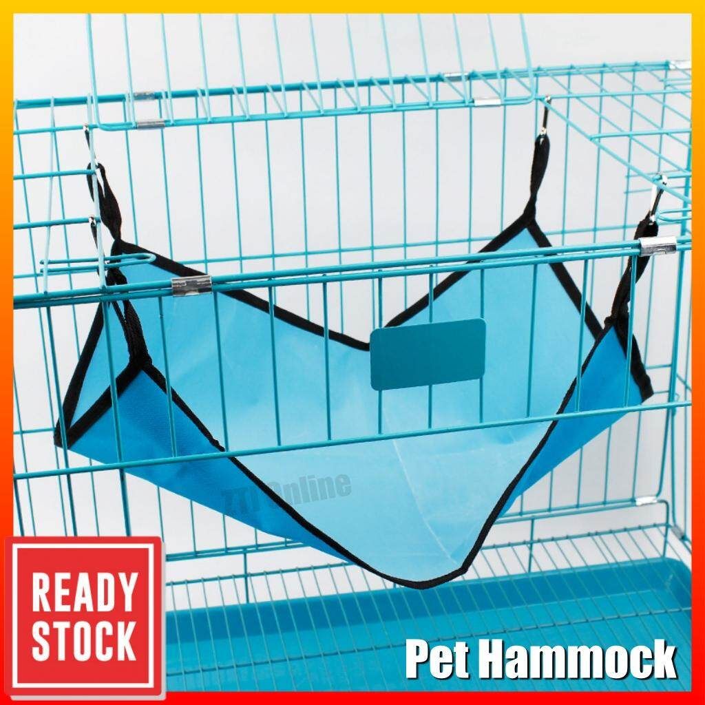 Pet Hanging Bed Warm Cat Cage Hammock Bed Mat Small Animals Sleep Pad Buaian Kucing 50*40CM