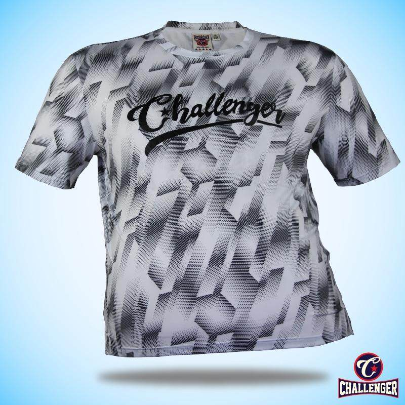 CHALLENGER BIG SIZE Ezdry RN SS Tee CH1027 (White)