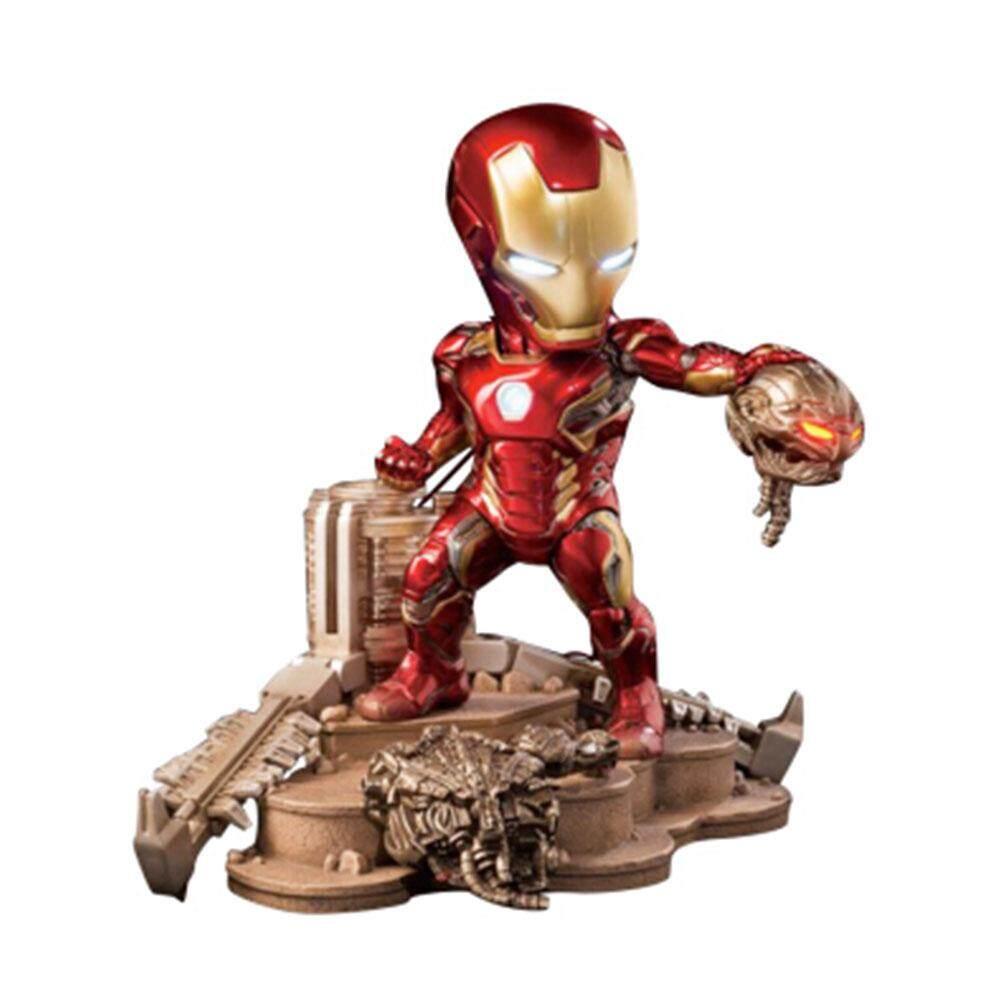 Beast Kingdom Marvel Avengers: Egg Attack - Age of Ultron - Iron Man Mark 45 Battle Statue (EA-026) - Mainan Kanak Kanak Lelaki