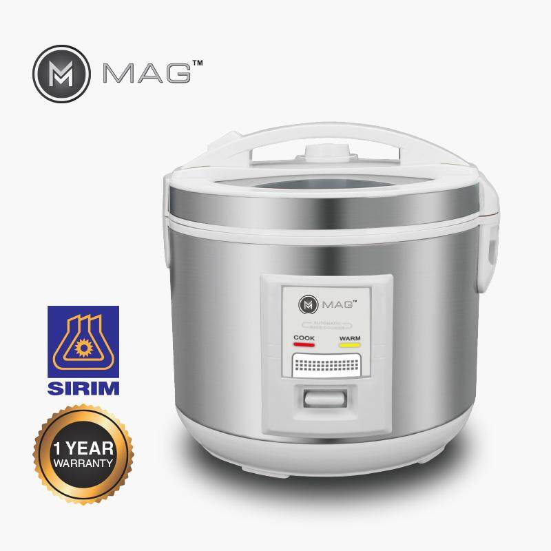 MAG  RICE COOKER 2.2L W/GLASS