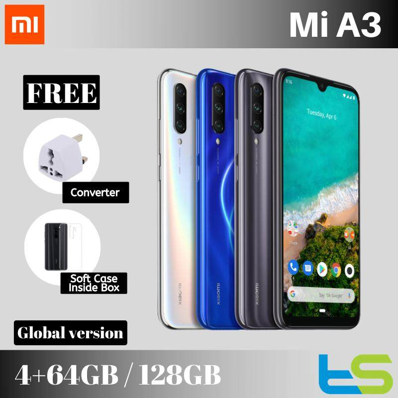 Xiaomi Mi A3 4GB + 128GB / 64GB AndroidOne [Global version] Smartphone Android handphone