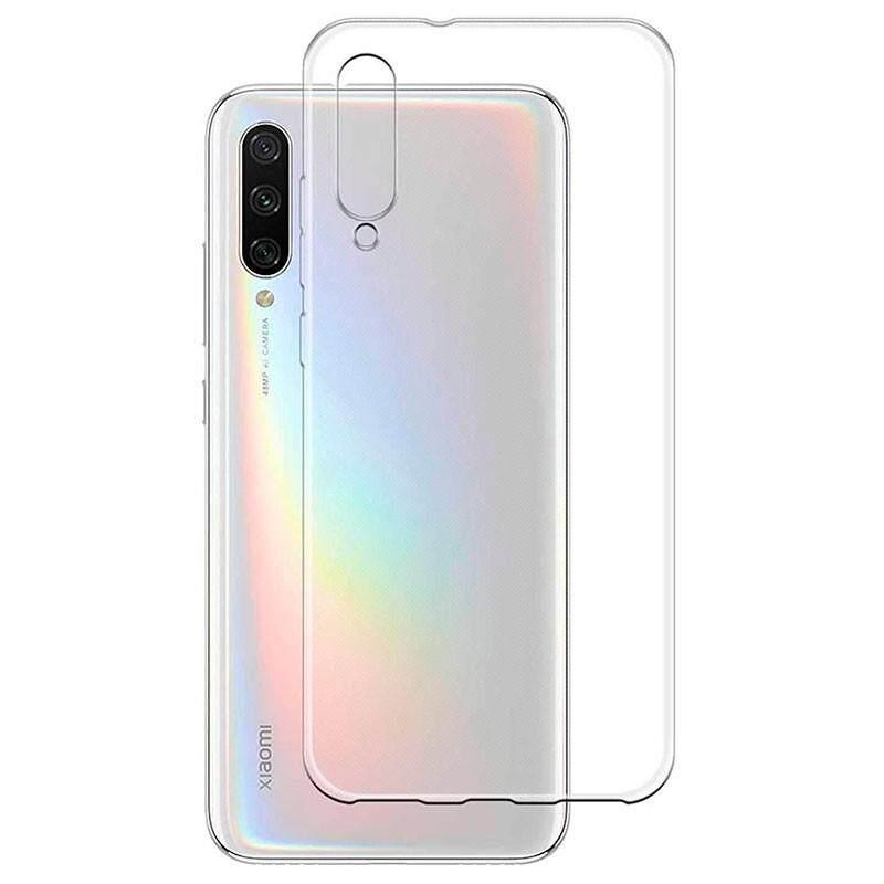TPU Silicone Gel Soft Case for Xiaomi Mi CC9e / Mi A3 (Transparent)