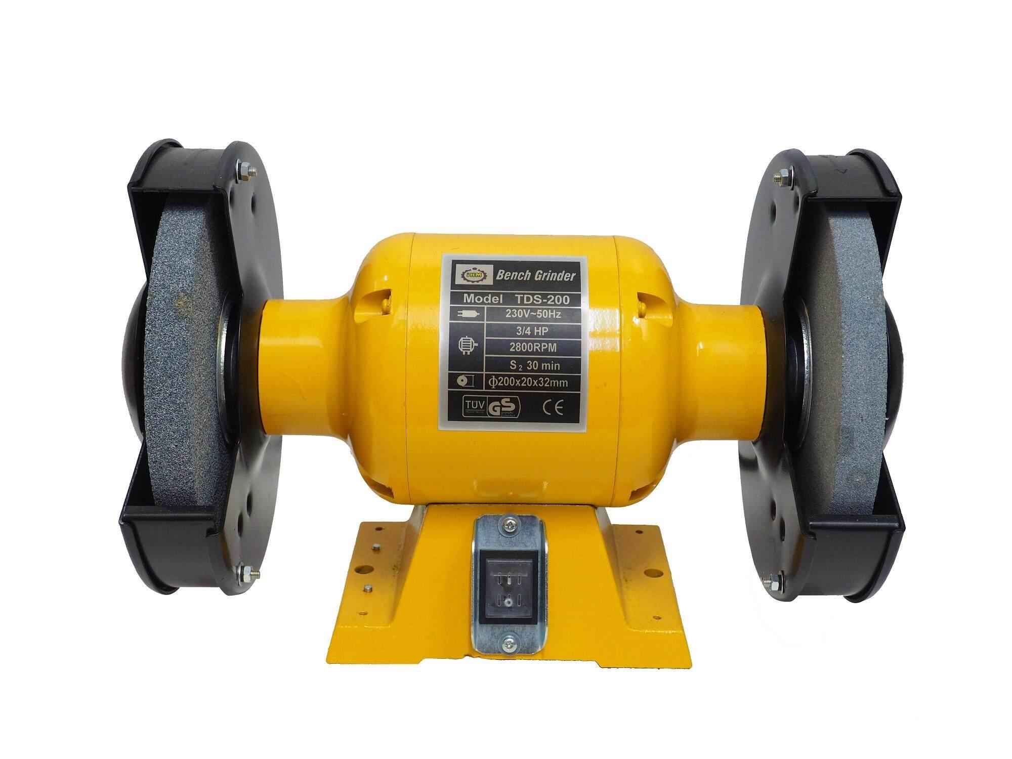 """iHM TDS-200 8"""" Bench Grinder"""