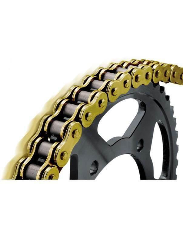 Premium Heavy Duty Hard Gold Chain ( 428H - 120L ), 428H-120L
