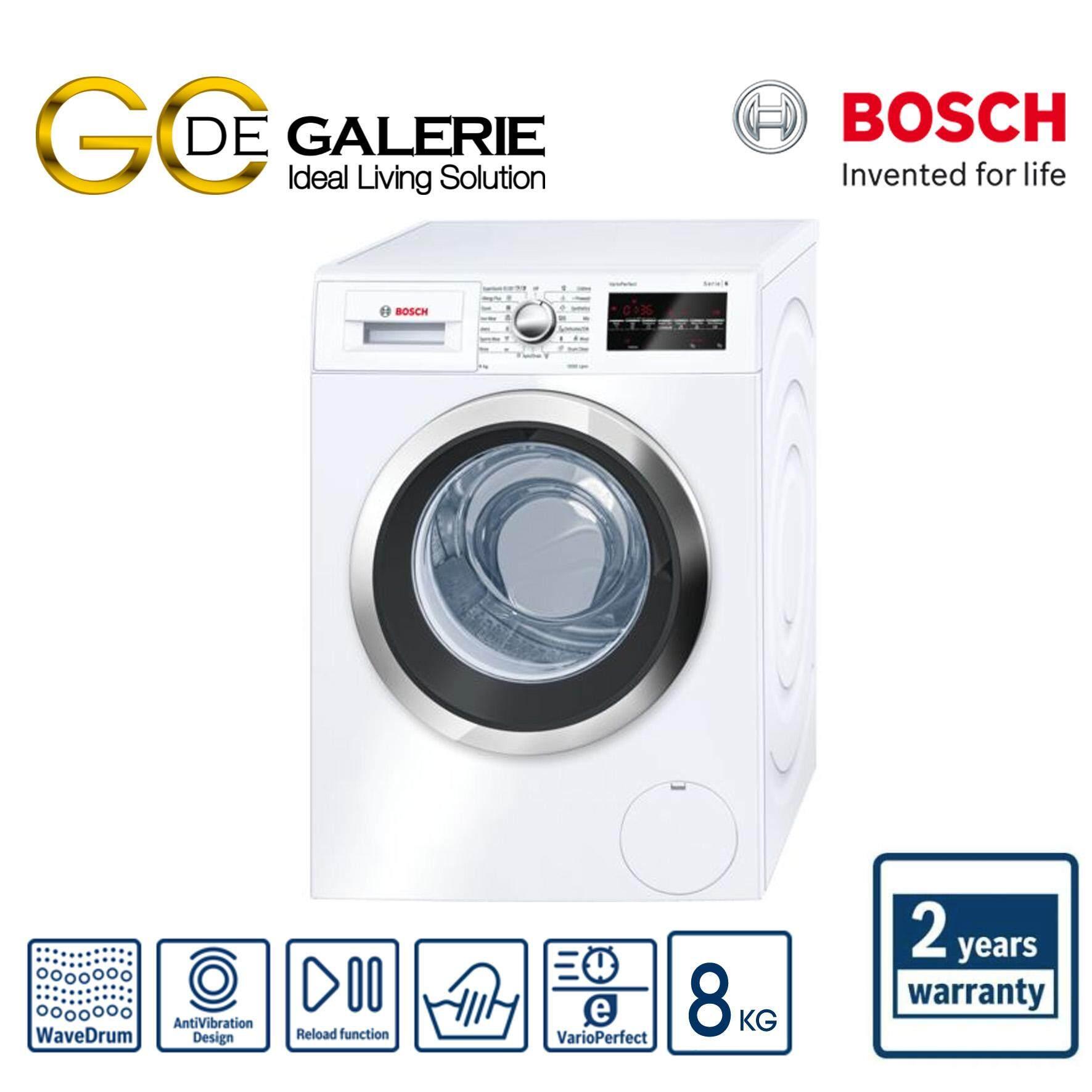 Bosch 8KG Front Load Washer - WAT24480SG