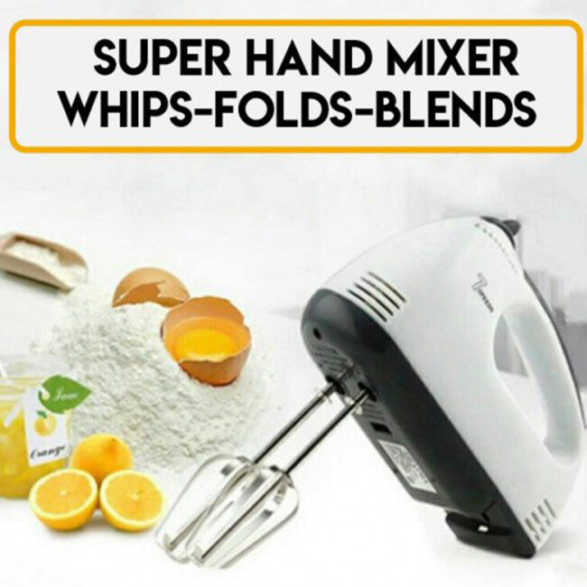 Scarlett 7 Speeds Portable Baking Super Hand Mixer (New Arrival) Special Promotional Price