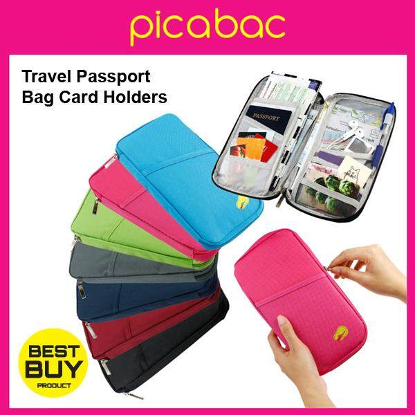 Travel Wallet Holder Organizer Passport Bag Card Holders Wallet Purse PACHB-TV0002