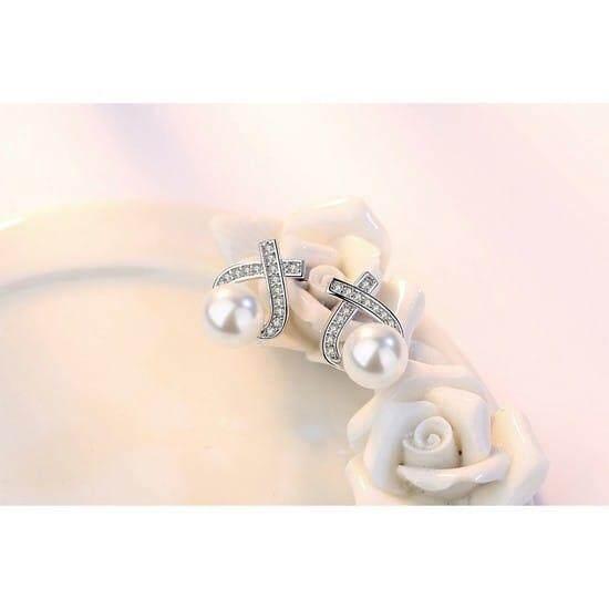 Micole E5027 Korean Style Women Elegant Earrings