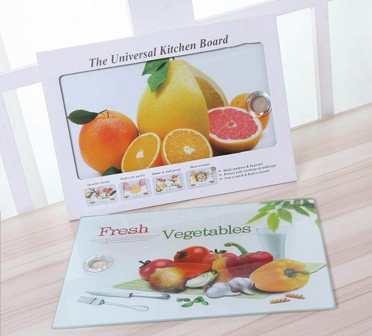 Universal Tempered Glass Cutting Board