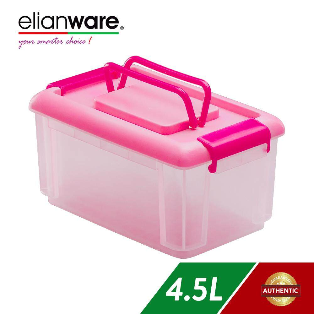 Elianware 4.5L Multipurpose Storage Box Container with Handle