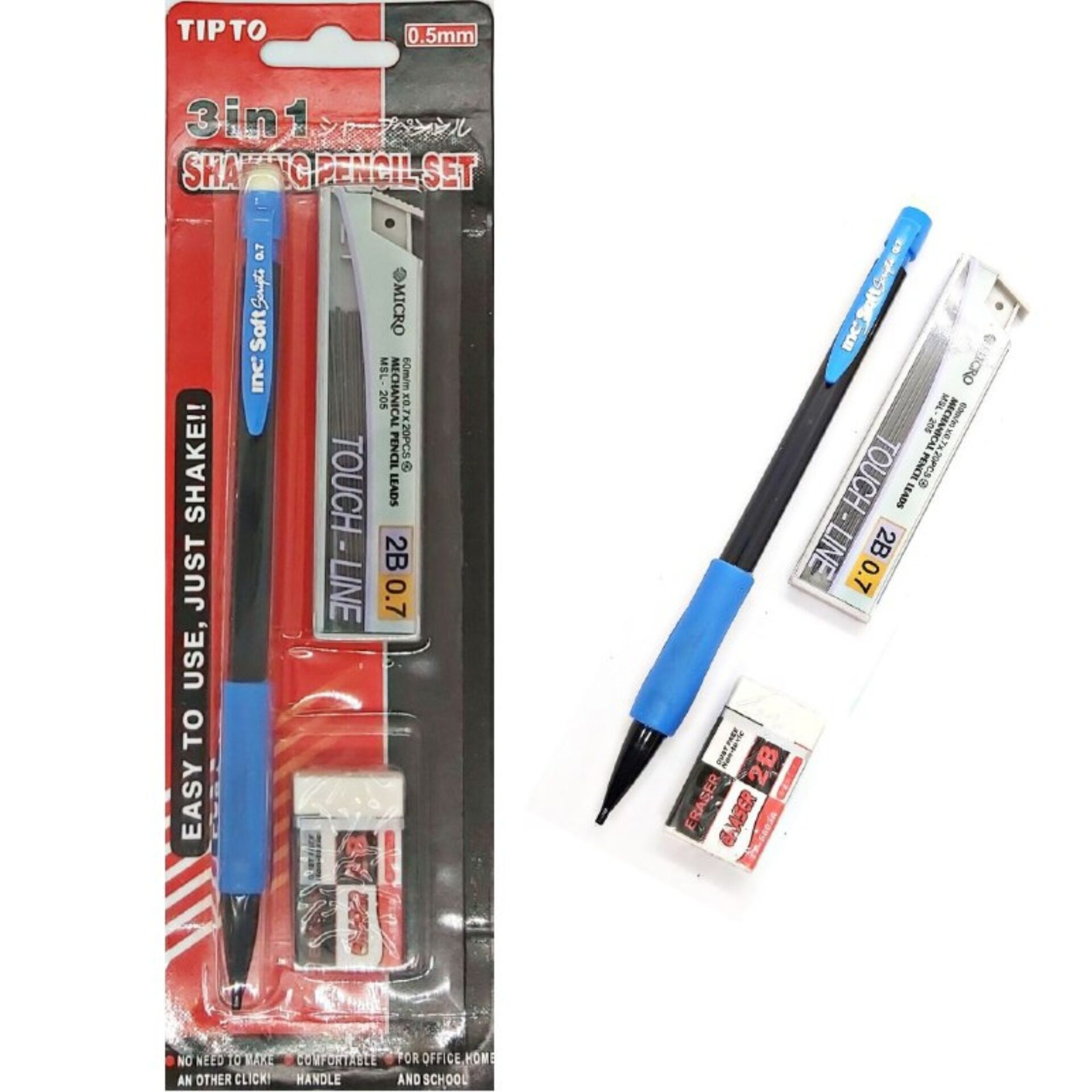 3in1 Mechanical Pencil Set