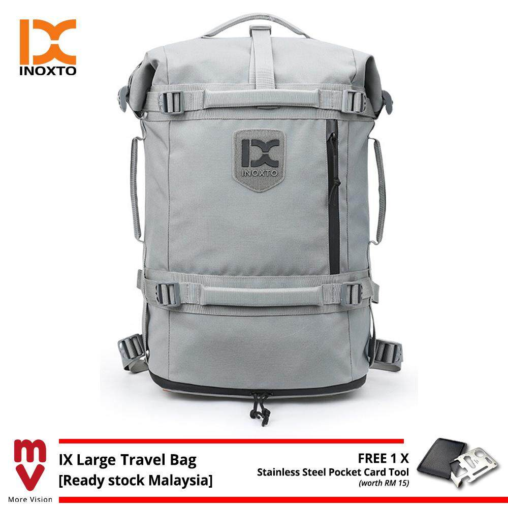 IX INOXTO Travel Backpack Large Camping Bag Rucksack Fashion Tactical Beg for Outdoor Laptop Casual Outfit Fitness - MI5503