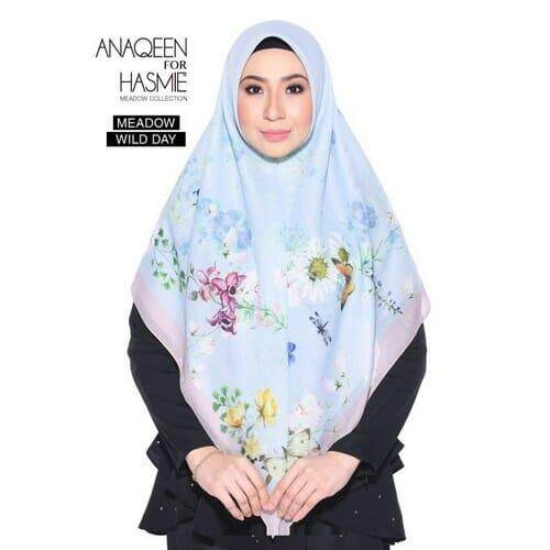 Tudung Bawal Anaqeen For Hasmie - Meadow Wild Day