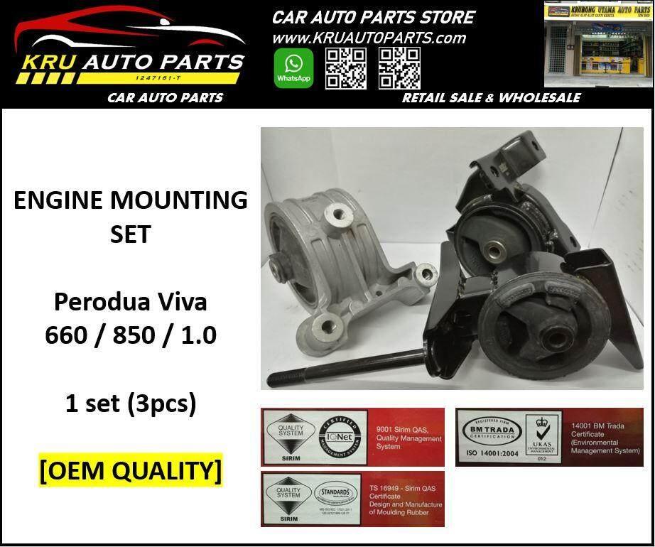 Engine Mounting Complete Set [OEM Quality] - Perodua Viva 660 / 850 / 1.0
