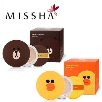 Magic Cushion by Missha + Free Refill