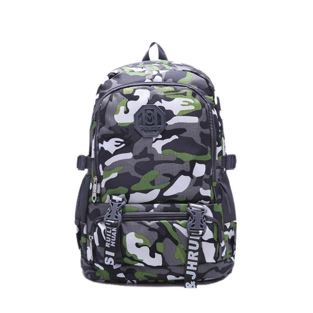 MV Bag Camouflage Backpack Laptop Travel Casual Durable Light Weight Waterproof Beg 411 MI4113