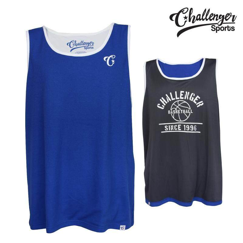 CHALLENGER BIG SIZE Reversible Tank Top CH1502 (Royal Blue)