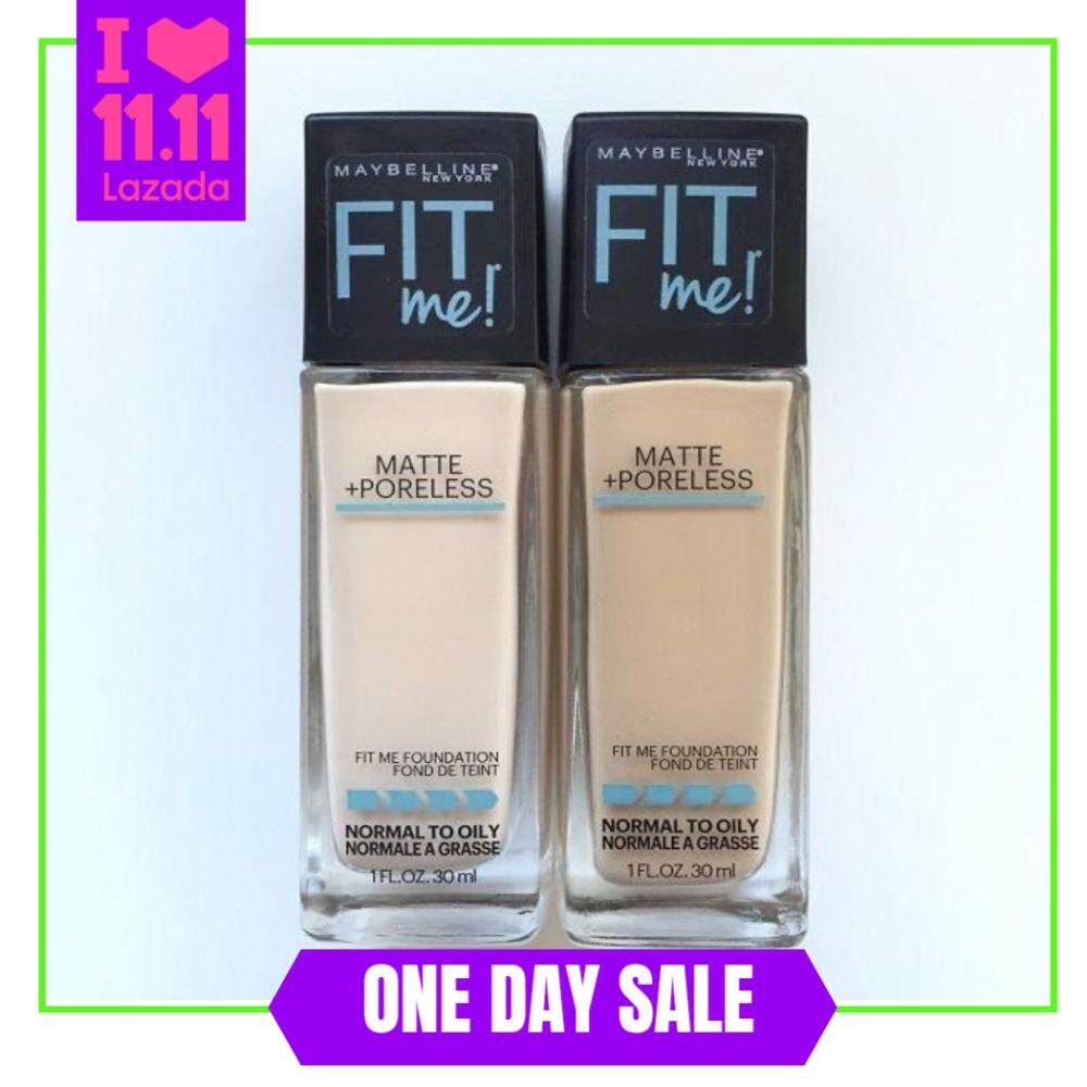 Abu-Maybelline Fit Me Matte Poreless Liquid Foundation foundation