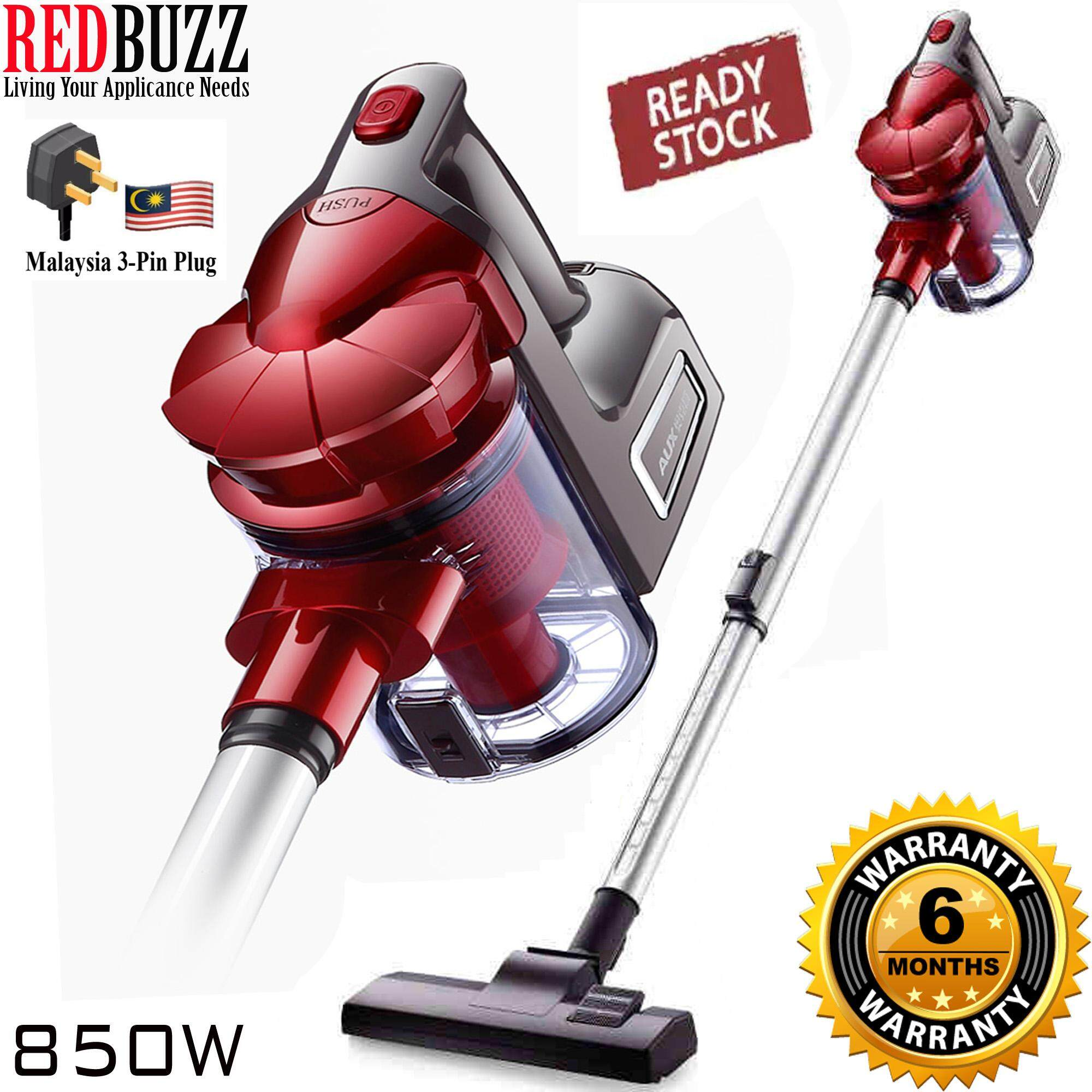 REDBUZZ Spandy Aux Design Dual Cyclone Strong Suction 850W Portable Handheld Vacuum Cleaners