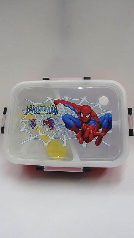 [Ready Stock] Cartoon Lunch Box Food Containers (BGJAYA)-Spider-Man