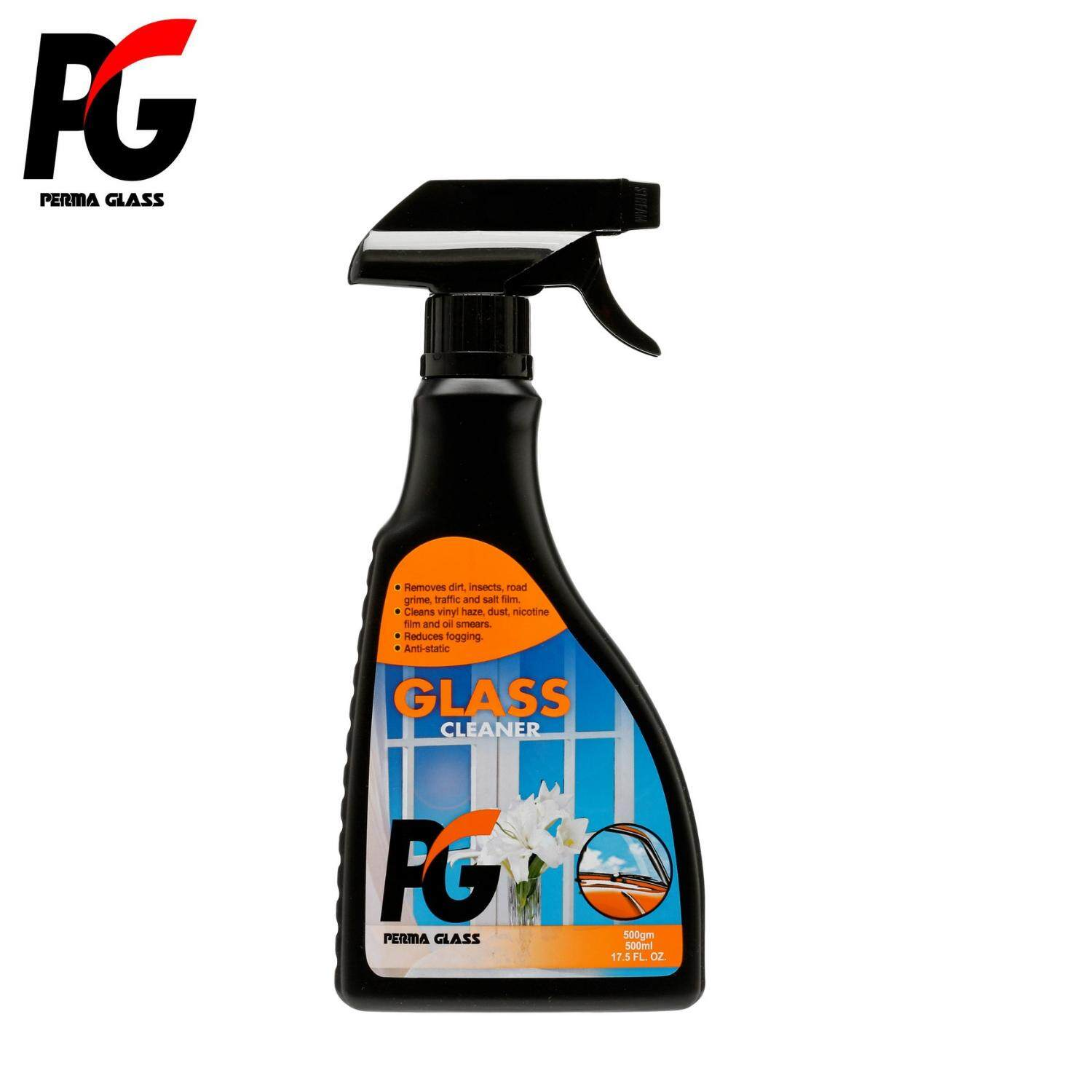 PG GLASS CLEANER (500ML) - CAR CARE EXTERIOR