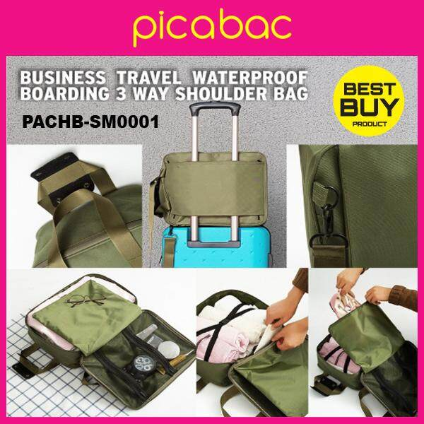 Picabac Business Travelling Compartment Waterproof Boarding Bag PACHB-SM0001