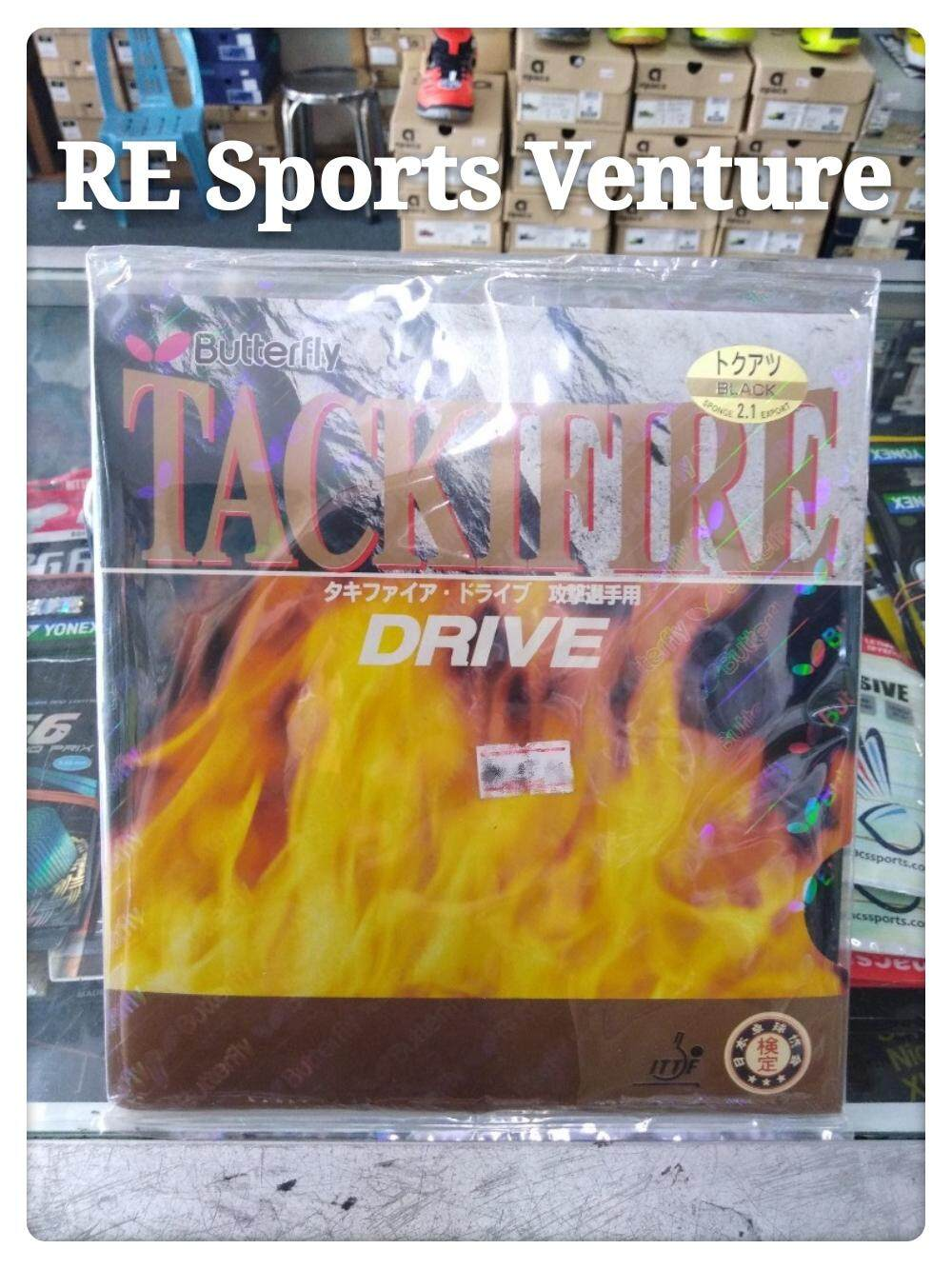 Butterfly TackiFire - Drive Table Tennis Rubber